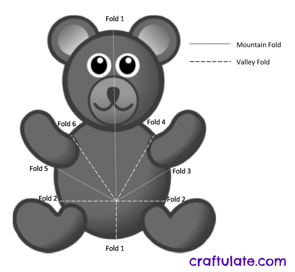 Bear Pop Up Card Tutorial  Craftulate In Teddy Bear Pop Up Card Template Free