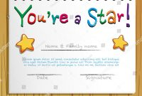 Beaufiful Star Of The Week Certificate Template Images Free School within Star Of The Week Certificate Template