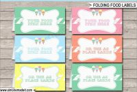 Beautiful Free Printable Food Labels Templates  Best Of Template intended for Food Label Template For Party
