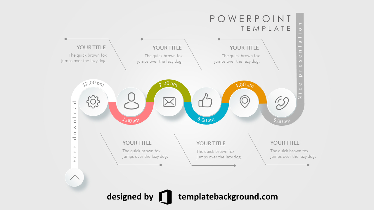 Best Animated Ppt Templates Free Download  Pp  Desain Within Powerpoint Sample Templates Free Download