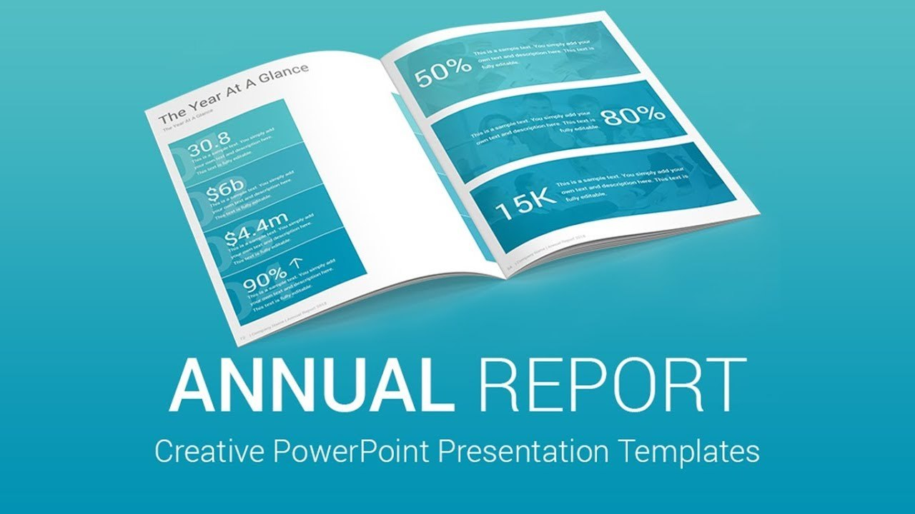 Best Annual Report Powerpoint Presentation Templates Designs  Youtube Regarding Annual Report Ppt Template