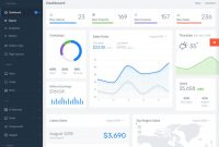 Best Bootstrap Admin Templates For Stunning Dashboards for Kendo Menu Template
