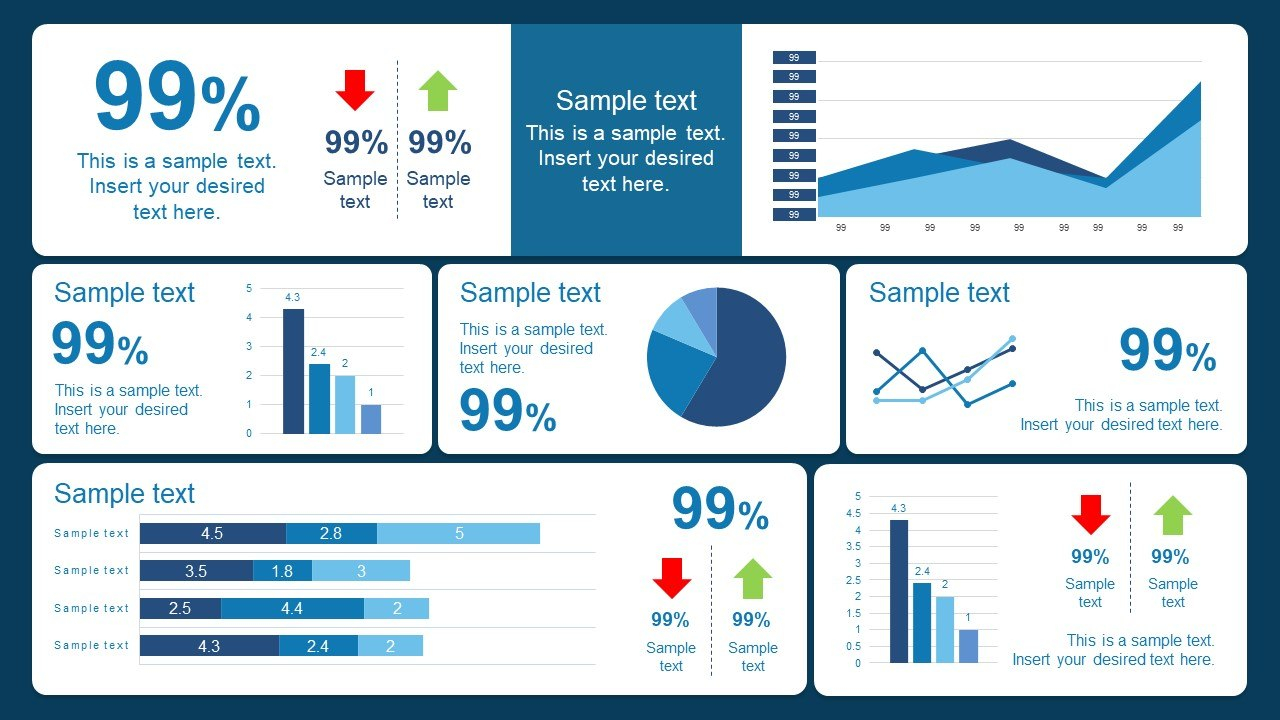 Best Dashboard Templates For Powerpoint Presentations Pertaining To Powerpoint Dashboard Template Free
