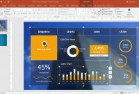 Best Dashboard Templates For Powerpoint Presentations within Project Dashboard Template Powerpoint Free