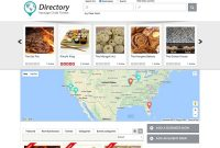 Best Directory WordPress Themes   Athemes in Business Listing Website Template