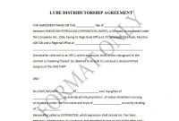 Best Free Distribution Agreement Templates ᐅ Template Lab within Exclusive Distribution Agreement Template Free