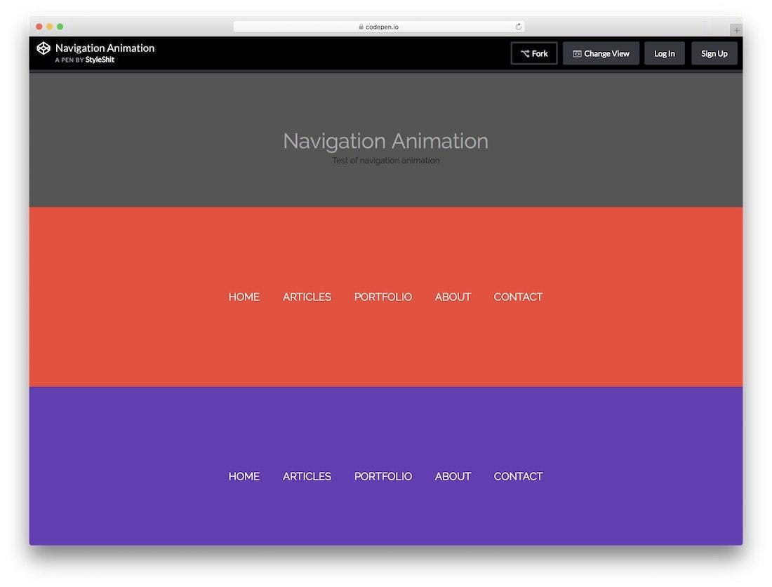 Best Free Website Menu Templates For Modern Creative Sites Pertaining To Free Css Navigation Menu Templates
