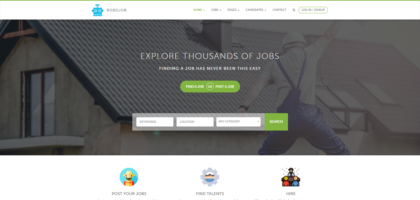 Best Free WordPress Directory Themes For Listing  Code Pixelz In Free Business Directory Template