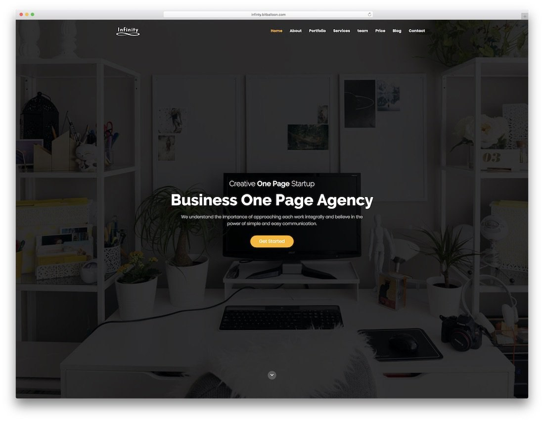 Best Html One Page Website Templates   Colorlib Intended For One Page Business Website Template