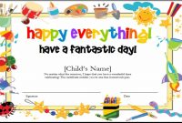 Best Ideas For Kids Gift Certificate Template On Summary with regard to Kids Gift Certificate Template