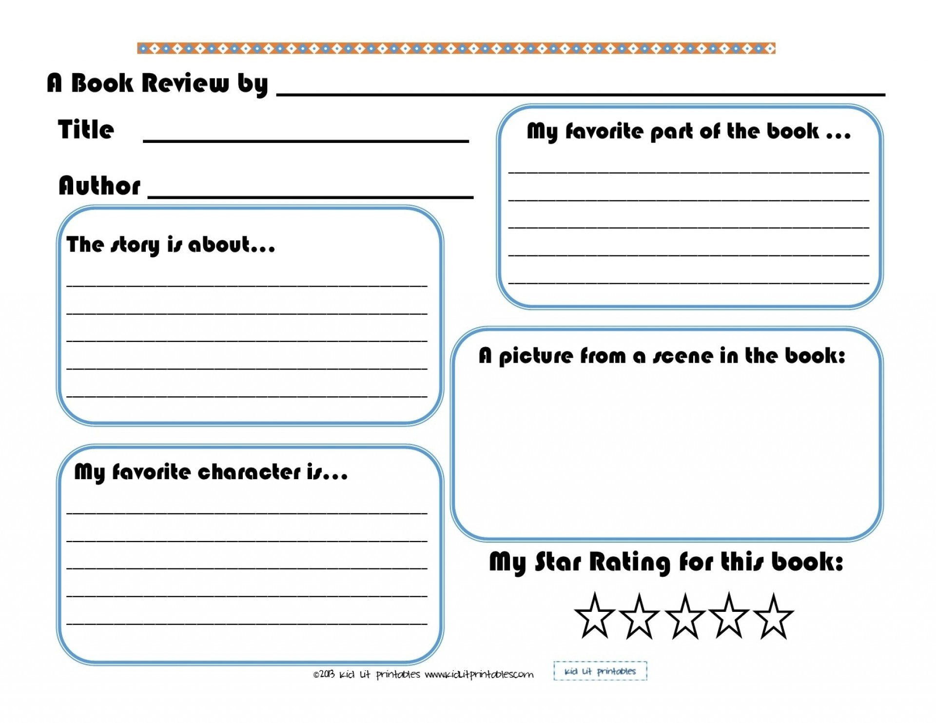 Best Images Of Printable Elementary Book Report Forms Pertaining Within 1St Grade Book Report Template