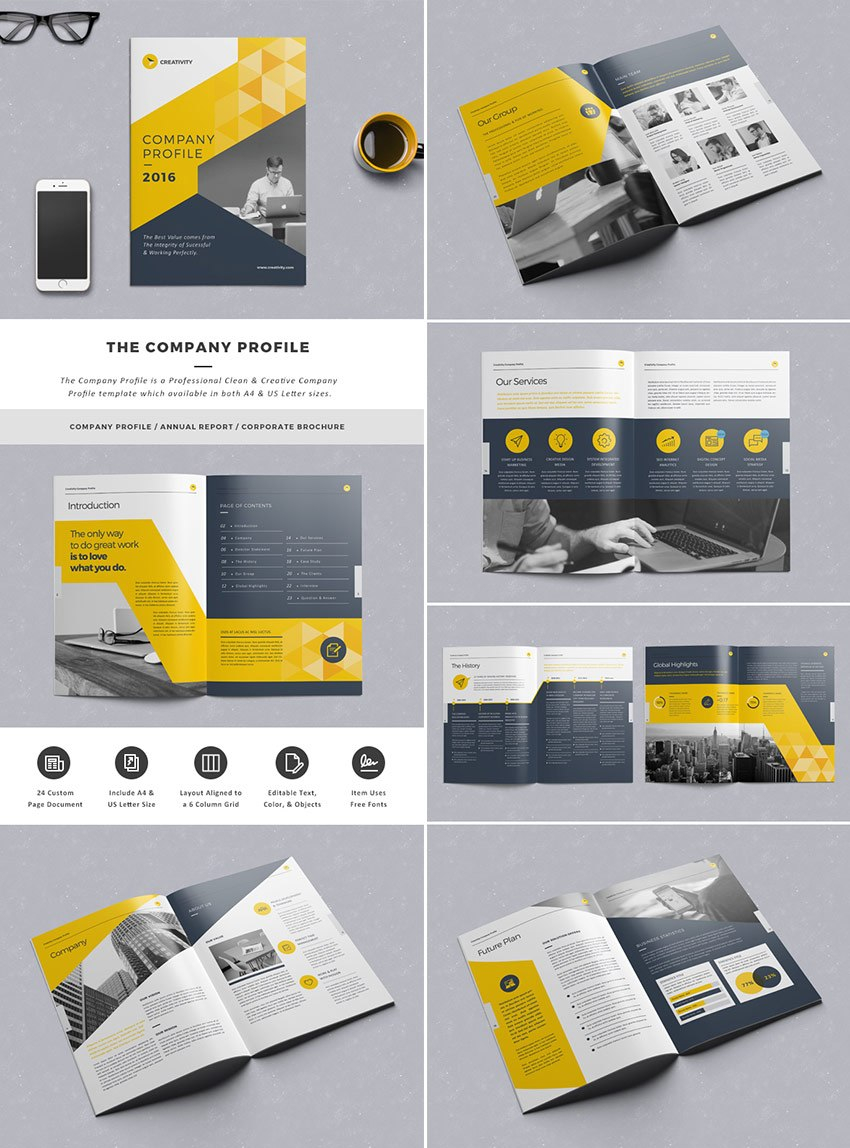 Best Indesign Brochure Templates  Creative Business Marketing Intended For Adobe Indesign Brochure Templates