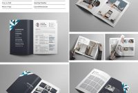Best Indesign Brochure Templates  Creative Business Marketing Regarding 12 Page Brochure Template