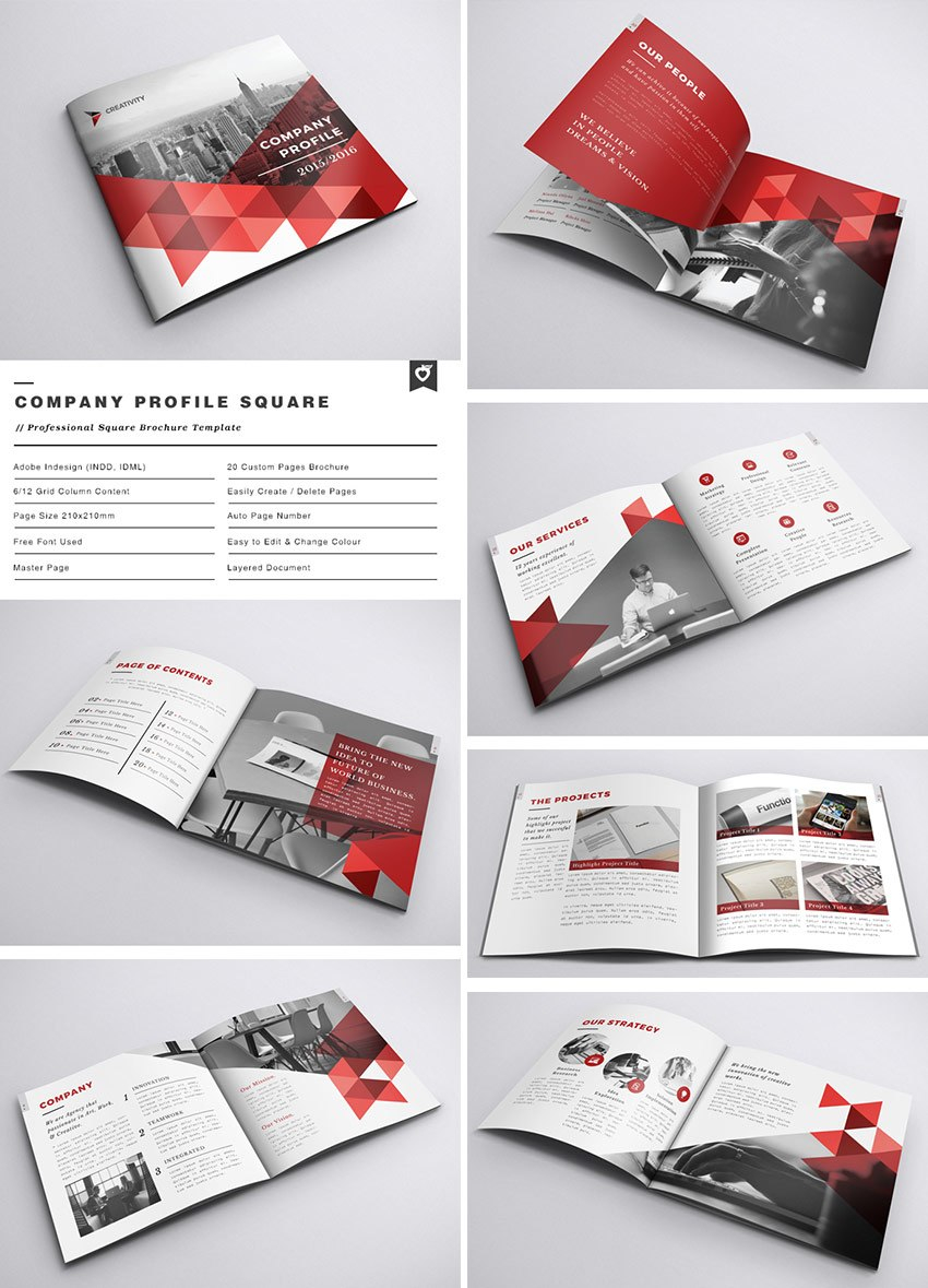Best Indesign Brochure Templates  Creative Business Marketing Within Brochure Templates Free Download Indesign