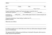 Best Lease Renewal Letters  Forms Word  Pdf ᐅ Template Lab pertaining to Renewal Of Tenancy Agreement Template