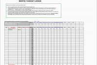 Best Of Business Ledger Template Excel Free  Best Of Template with Business Ledger Template Excel Free