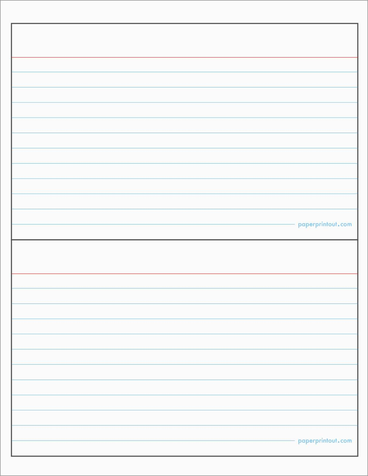 Best Of Free Printable Note Cards Template  Best Of Template Throughout Microsoft Word Index Card Template