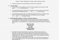 Best Of Master Service Agreement Template  Template – Home Care with Home Care Service Agreement Template