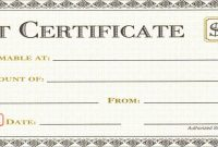 Best Of Restaurant Gift Certificate Template Free Download  Best Of with Restaurant Gift Certificate Template