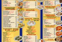 Best Photos Of Mexican Restaurant Menu Template Blank Free throughout Menu Templates For Publisher