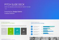 Best Pitch Deck Templates For Business Plan Powerpoint Presentations in Business Idea Pitch Template
