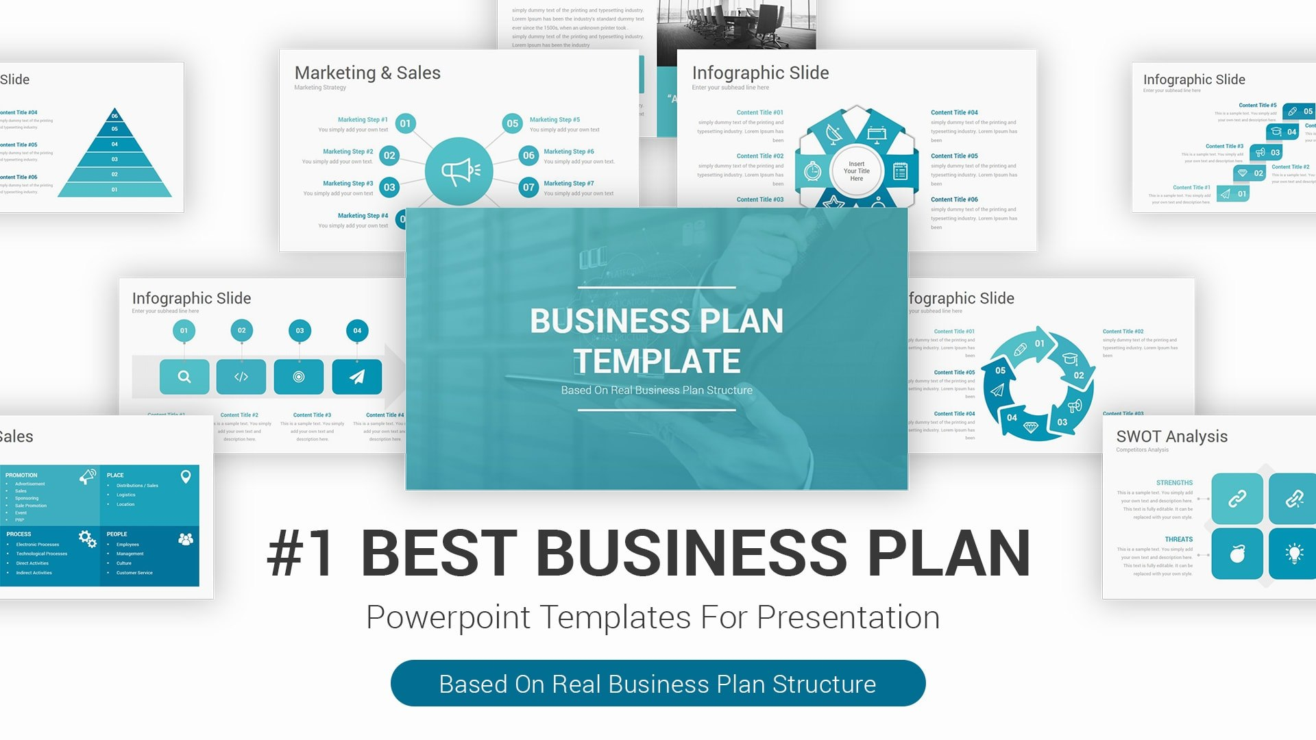 Best Pitch Deck Templates For Business Plan Powerpoint Presentations Pertaining To Business Plan Presentation Template Ppt