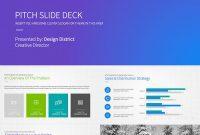 Best Pitch Deck Templates For Business Plan Powerpoint Presentations regarding Business Case Presentation Template Ppt
