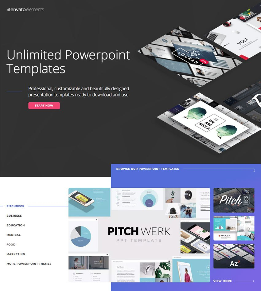 Best Pitch Deck Templates For Business Plan Powerpoint Presentations Throughout Powerpoint Pitch Book Template