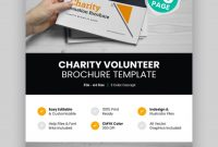 Best Professional Business Brochure Design Templates For with regard to Volunteer Brochure Template