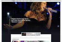 Best Responsive Music Website Templates   Colorlib with regard to Record Label Website Template Free