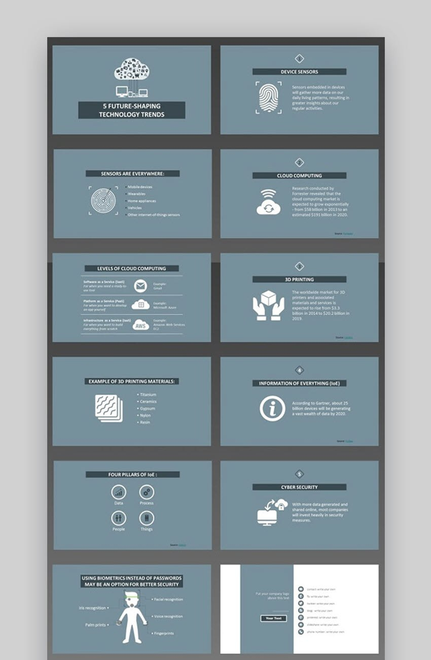 Best Science  Technology Powerpoint Templates With Hightech Pertaining To High Tech Powerpoint Template