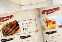 Best Selling Menu Templates For Restaurants  Premiumcoding regarding Menu Template Indesign Free