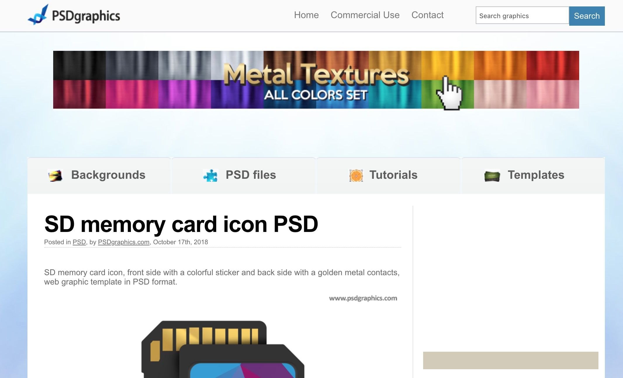 Best Sites To Find Free Psd Templates For Photoshop Pertaining To In Memory Cards Templates