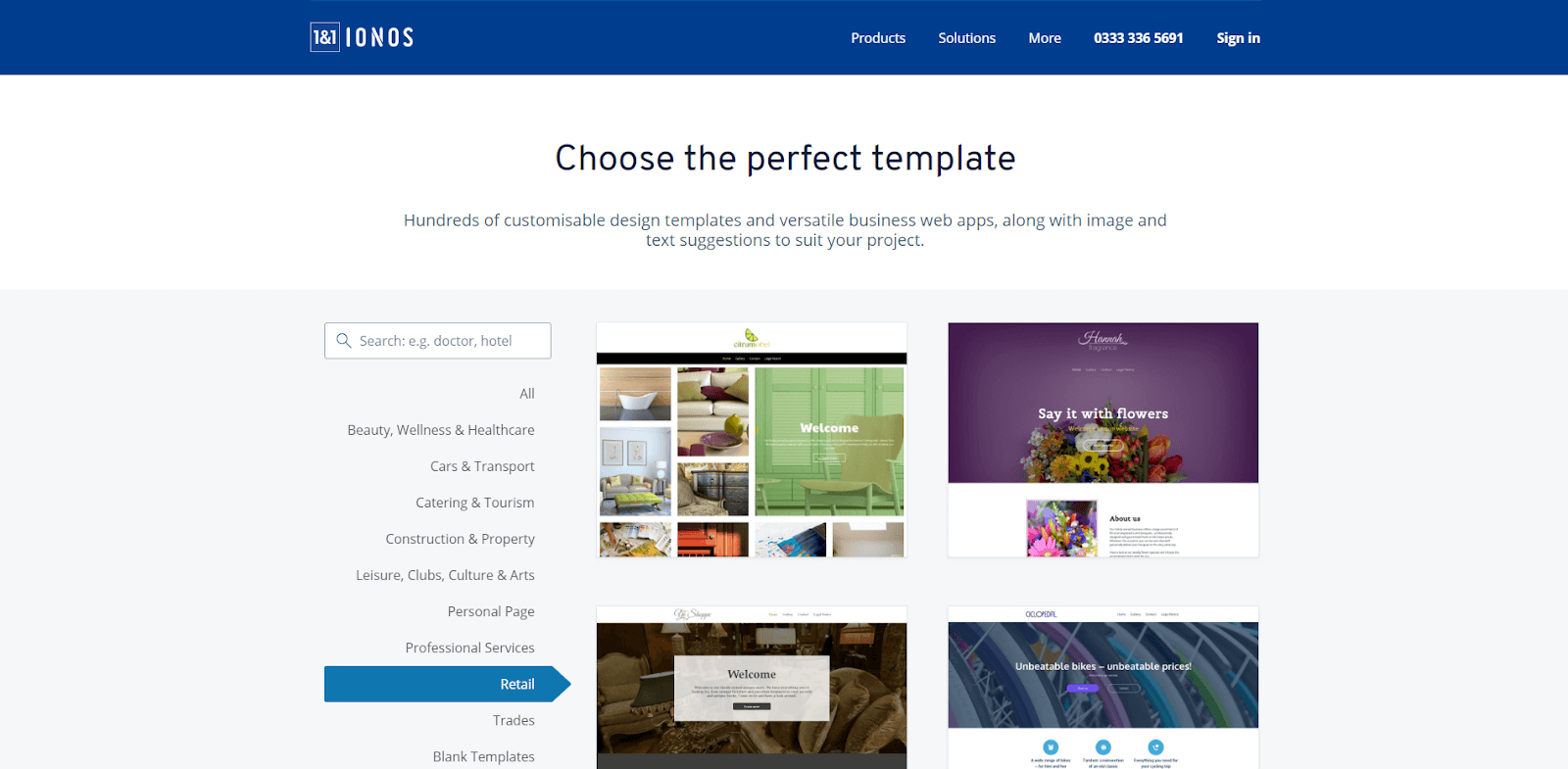 Best Small Business Website Builders  Get Your Business Online Regarding Website Templates For Small Business