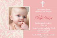 Bestfontforchristeninginvitation  Invitations  Baptism within Baptism Invitation Card Template