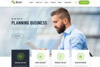 Bexer Business Website Template  Themefisher with regard to Bootstrap Templates For Business