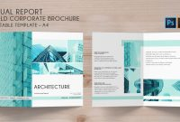 Bifold Brochure Annual Conference   Template  Codester pertaining to 4 Fold Brochure Template