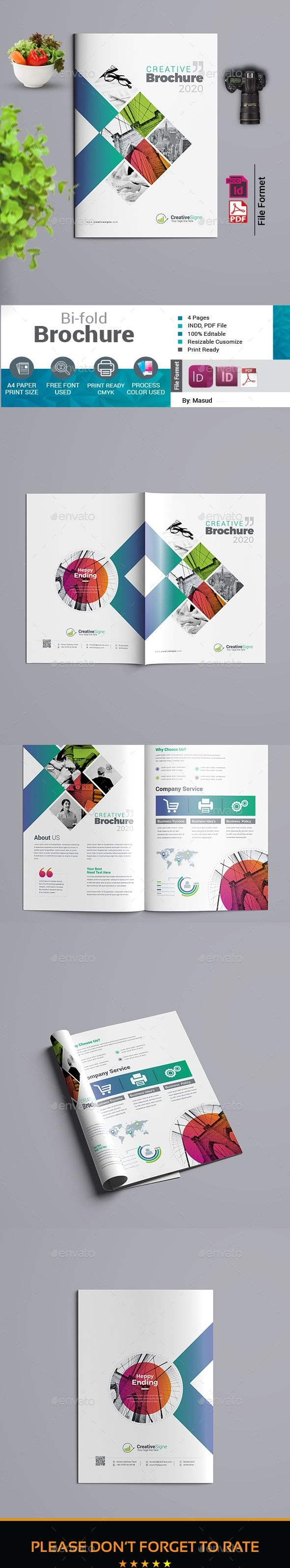 Bifold Brochure Template Indesign Indd  A And Us Letter Size Throughout Letter Size Brochure Template