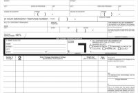 Bill Of Lading Templates  Free Word Pdf Excel Format in Blank Bol Template