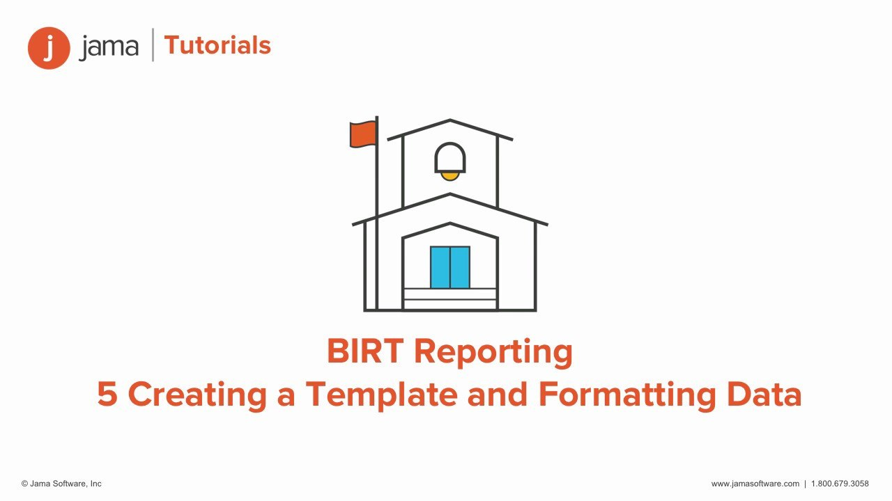 Birt Reporting Creating A Template And Formatting Data Tutorial For Regarding Birt Report Templates