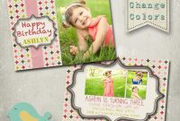 Birthday Card Template Photoshop Ideas Il Fullxfull pertaining to Photoshop Birthday Card Template Free