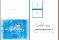 Birthday Card Template Word Awesome Birthday Card Layout For Word within Greeting Card Layout Templates