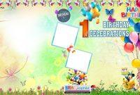 Birthday Flex Banner Design Psd Template Free Downloads  Srk throughout Photoshop Birthday Card Template Free