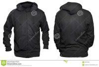 Black Hoodie Mock Up Stock Image Image Of Casual Cotton regarding Blank Black Hoodie Template