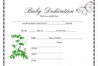 Blank Birth Certificate  Template Business intended for Baby Death Certificate Template
