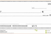 Blank Business Check Template  Template  Business Checks Payroll pertaining to Blank Business Check Template