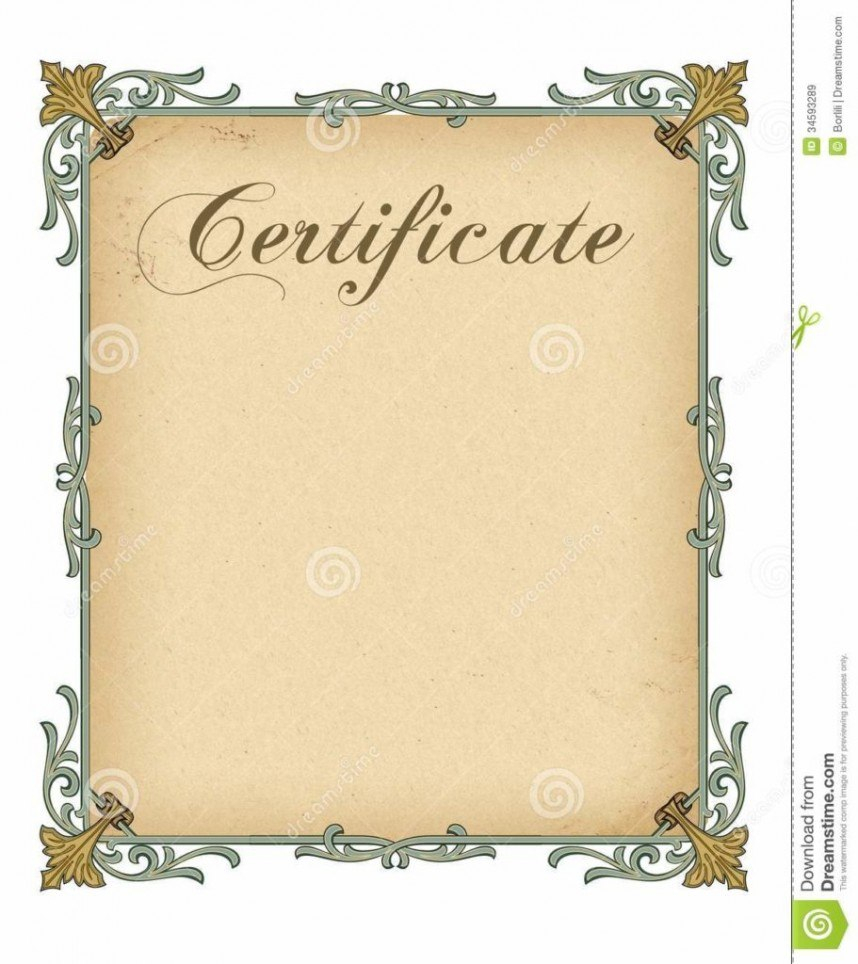 Blank Certificate Template Award Shocking Ideas Printable Spot For Blank Certificate Templates Free Download