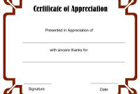 Blank Certificate Templates To Print  Blank Certificate Templates pertaining to Soccer Certificate Templates For Word