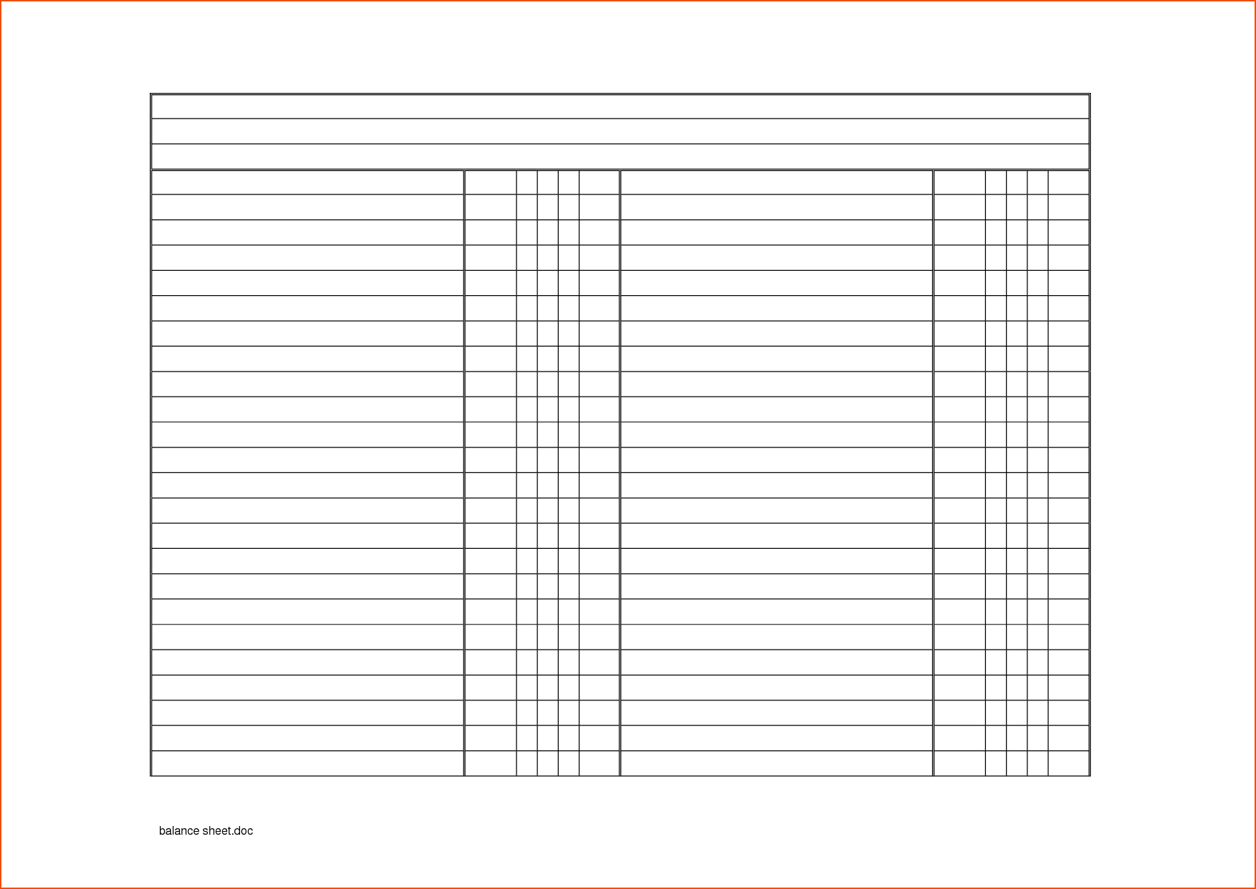 Blank Checklist Template Word Fascinating Ideas Printable For Blank Checklist Template Word