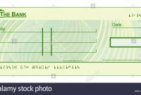 Blank Cheque Stock Photos  Blank Cheque Stock Images  Alamy intended for Blank Cheque Template Uk
